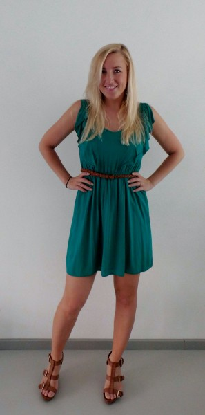 OOTD-Little-Green-Dress1