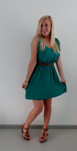 OOTD-Little-Green-Dress2