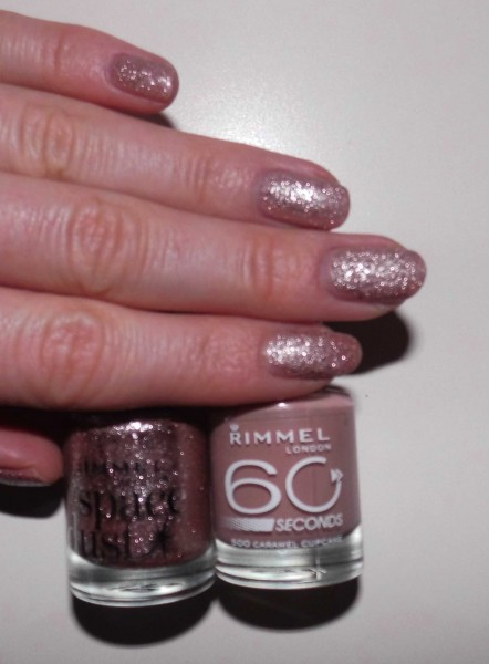 nails-rimmel-caramel-cupcake-space-dust-aurora-3
