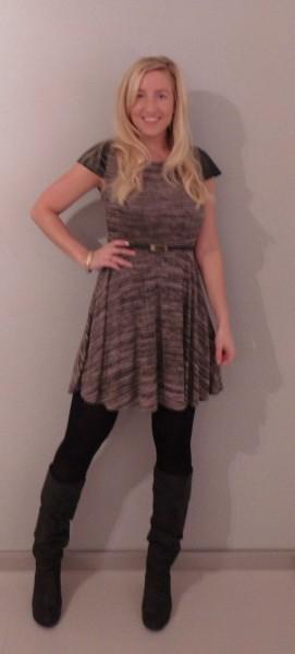 outfit-jurkje-dress-primark-laarzen-heels-zara-leren-mouw-leather-sleeves-1