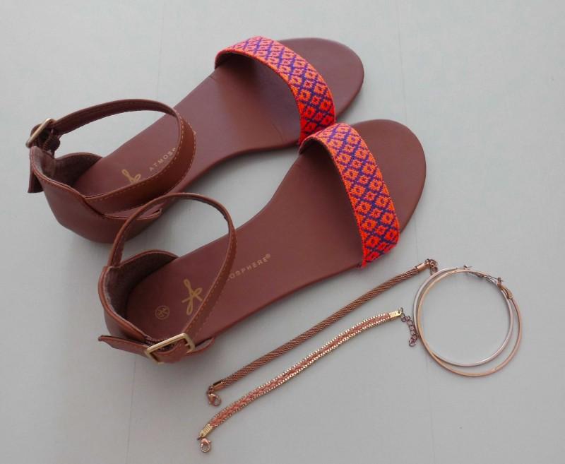 OOTD-outfit-neon-roze-oranje-sandalen-primark-light-jeans-bershka-3