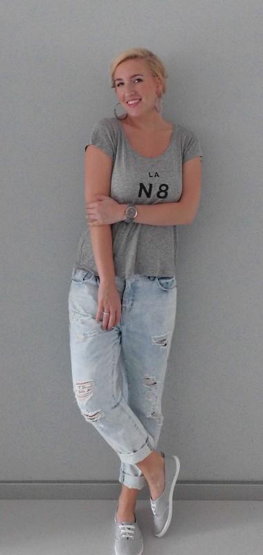 OOTD-outfit-boyfriend-jeans-primark-tshirt-stradivarius-casual-1