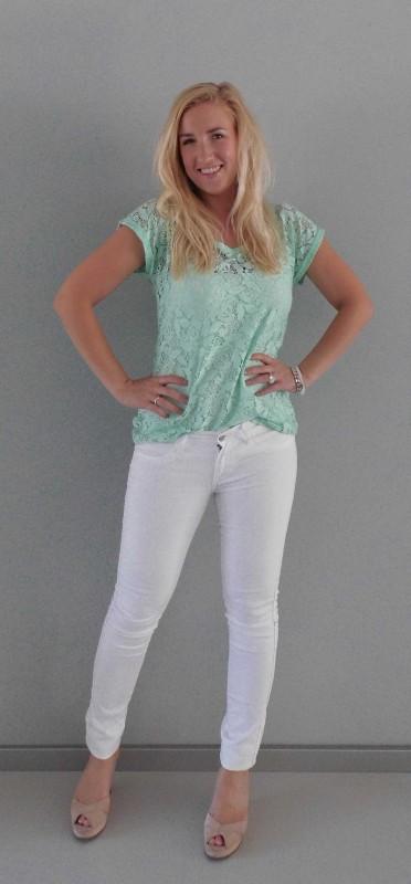 OOTD-white-wit-en-mint-green-kant-lace-summer-1