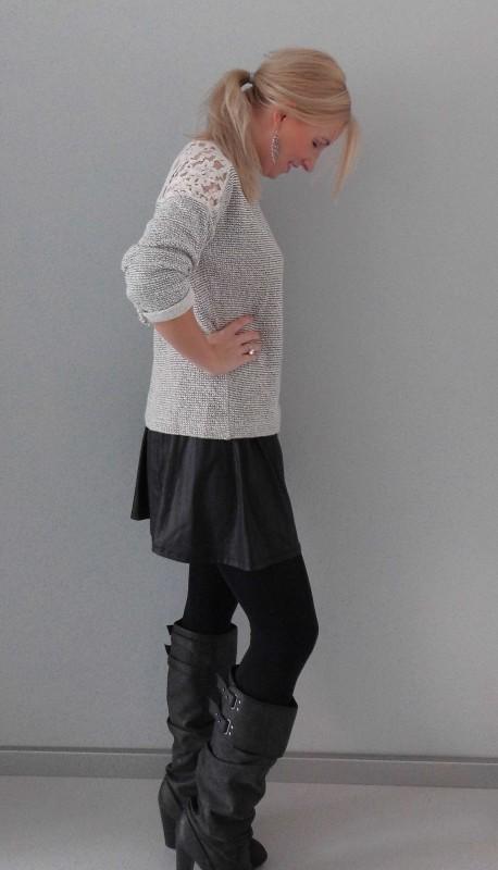 OOTD-outfit-sweater-trui-en-skirt-rokje-high-heels-boots-zara-stradivarius-primark-casual-chic-comfy-3