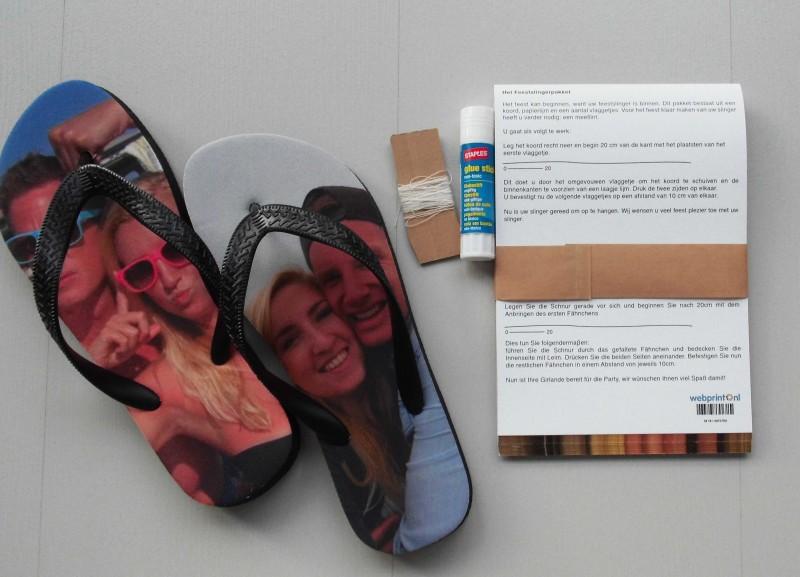 review-webprint.nl-foto-cadeau-slingers-feest-feestslingers-verjaardag-bruiloft-huwelijk-slippers-foto