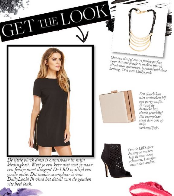 get the look daily look little black dress