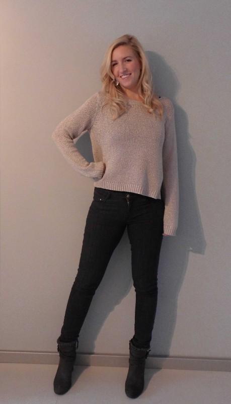 OOTD-outfit--trui-skinny-jeans-H&M-boots-stradivarius-broek-grijs-zara-koel-2