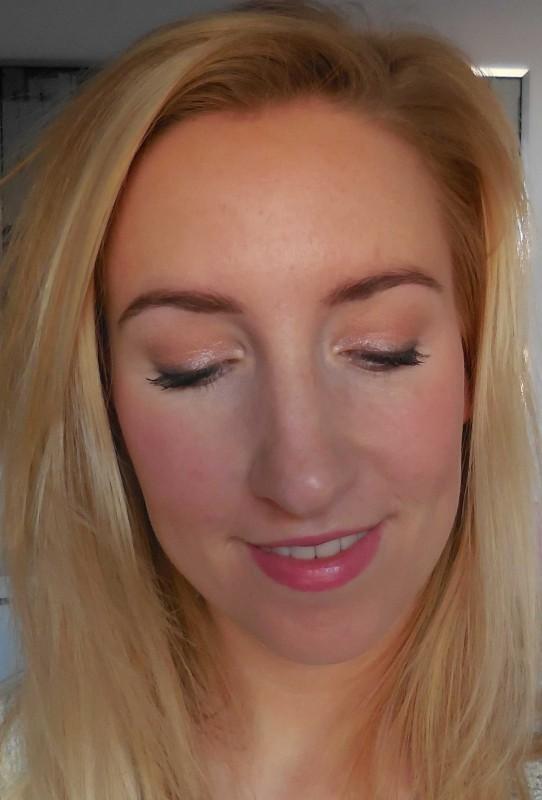 review-makeup-geek-foiled-eyeshadow-in-the-spotlight-en-beaches-and-cream-oogschaduw-look-bruiloft-2