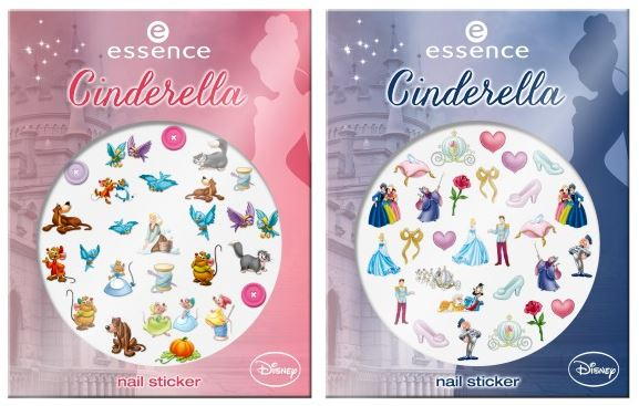 essence limited edition cinderella nail stickers