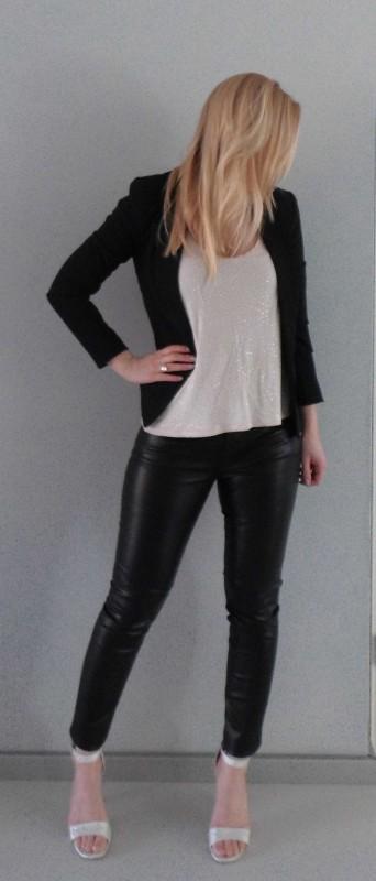 OOTD-outfit-leren-broek-leather-pants-glitter-hakken-sandalette-colbert-blazer-zwart-party-feestje-sexy-stijlvol-3
