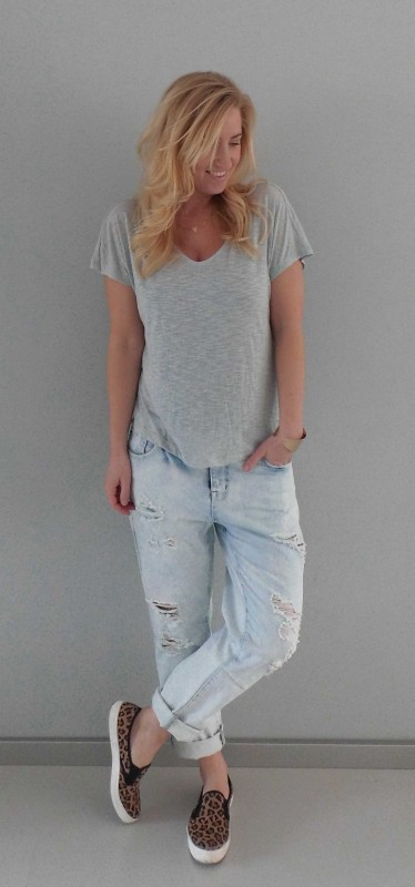 OOTD-Outfit-of-the-day-baggy-boyfriend-ripped-jeans-stoer-gympen-primark-forever-21-1