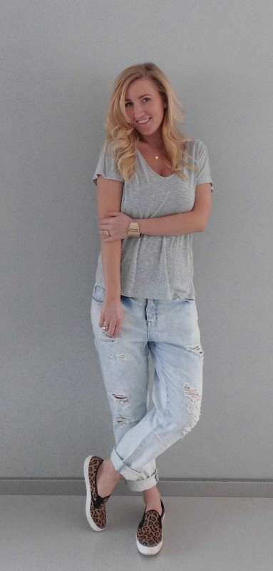 OOTD-Outfit-of-the-day-baggy-boyfriend-ripped-jeans-stoer-gympen-primark-forever-21-2