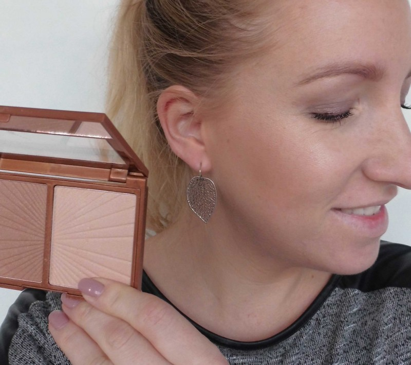 Review-W7-Hollywood-Bronze-Glow-palette-dupe-Charlotte-Tilbury-Filmstar-bronze-glow-swatch-look-5