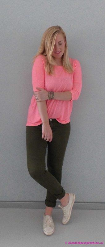 ootd-outfit-herfst-roze-groen-comfy-1